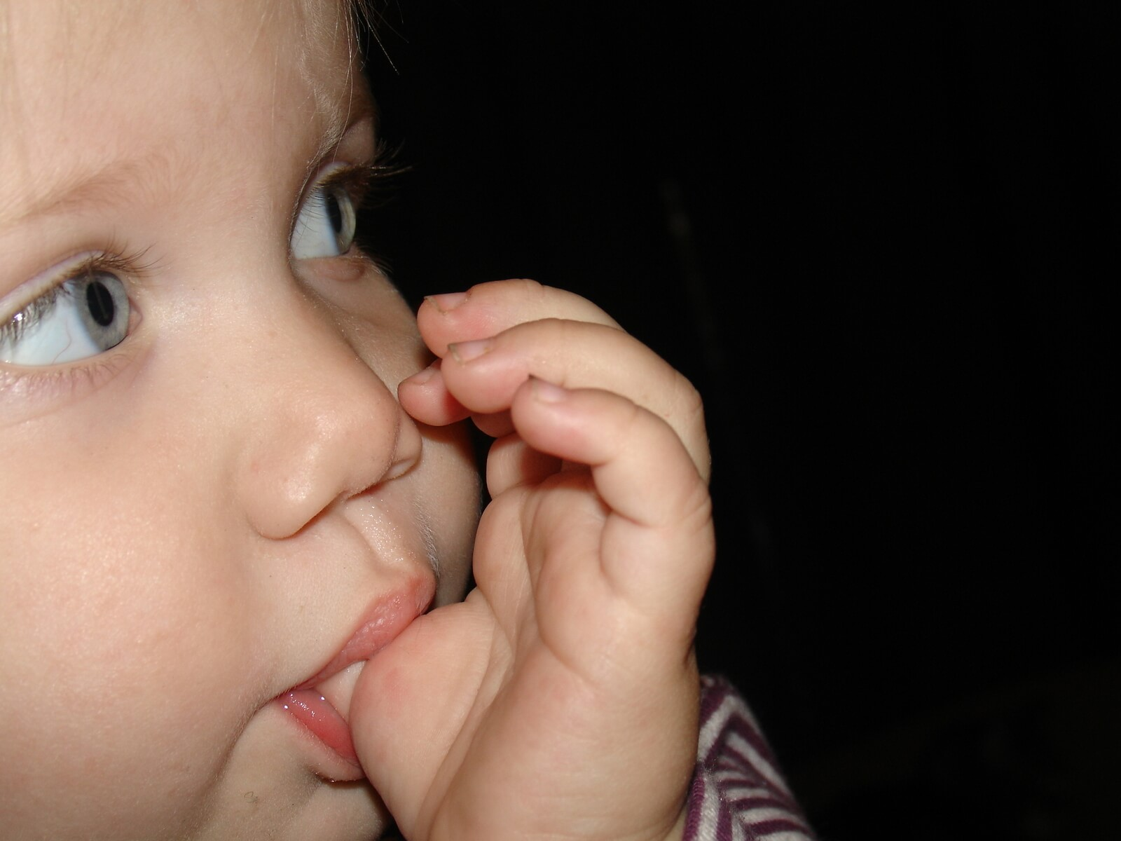 baby thumbsucking may result in long term effect on childrens teeth